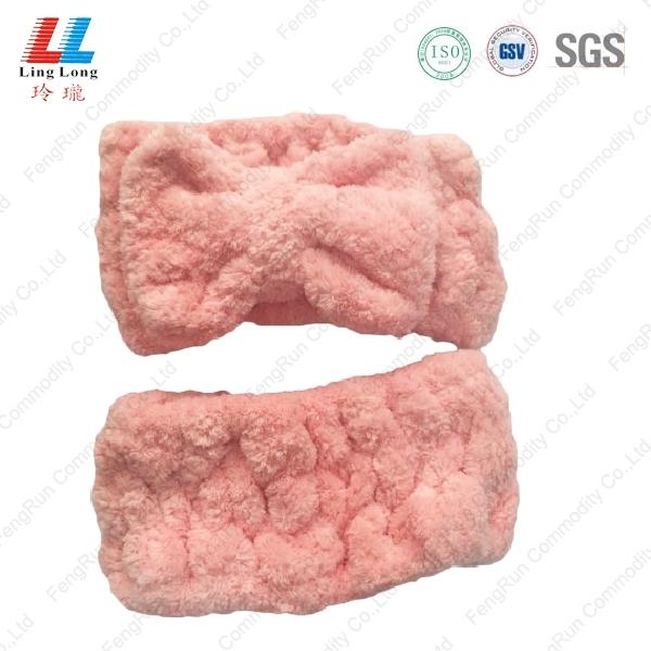 珠海粉色蝴蝶束发带